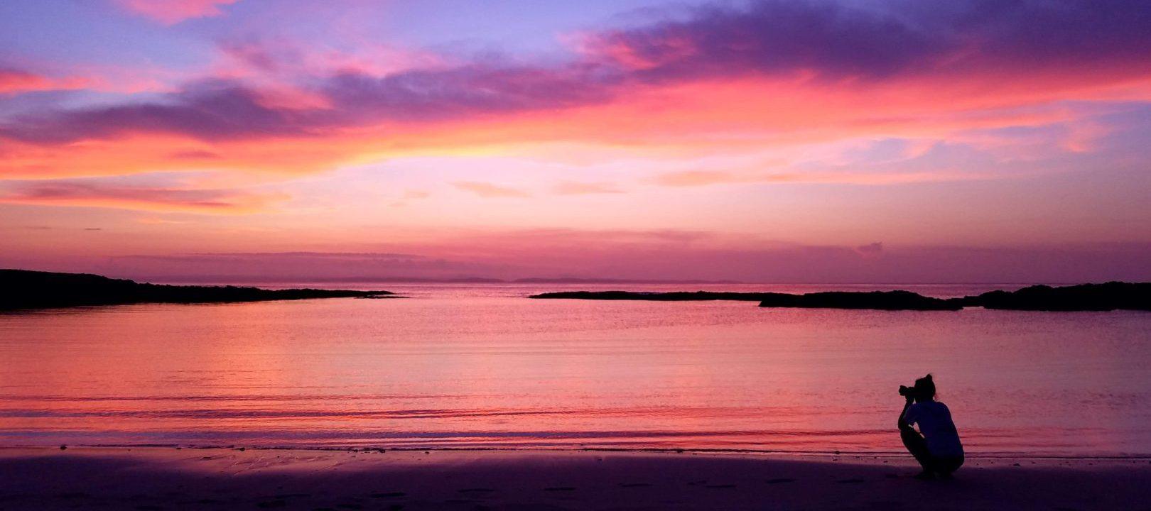 sugirabeach_sunset